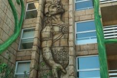 Talla en cemento para hotel. Croacia. TAA Group